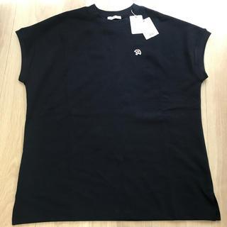 アーノルドパーマー(Arnold Palmer)のアーノルドパーマー レディース トップス ネイビー新品(Tシャツ(半袖/袖なし))