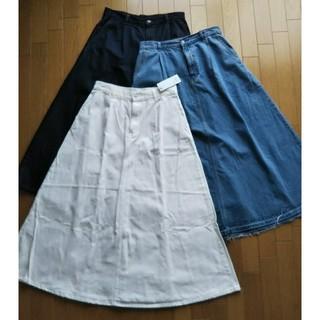ジーユー(GU)の【GU】デニムスカート3枚&Tワンピ&Aラインワンピ、計5枚セット(その他)