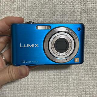 パナソニック(Panasonic)のお値下げ!Panasonic デジタルカメラ LUMIX FS7 ブルー(コンパクトデジタルカメラ)