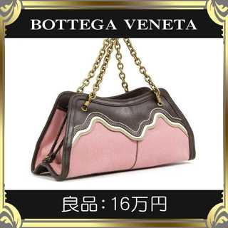 ボッテガヴェネタ(Bottega Veneta)の【真贋査定済・送料無料】ボッテガのハンドバッグ・良品・本物・パーティ用・希少(ハンドバッグ)