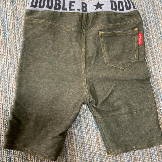 DOUBLE.B(ダブルビー)のDOUBLE B ミキハウス ハーフパンツ80センチ  キッズ/ベビー/マタニティのベビー服(~85cm)(パンツ)の商品写真