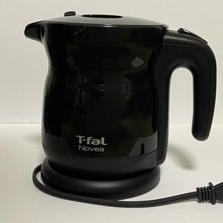 ティファール(T-fal)の【箱付美品】ティファール ノヴェア ブラック 0.5(電気ケトル)