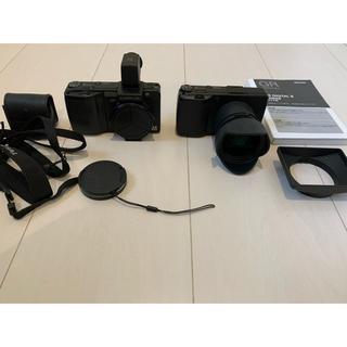 リコー(RICOH)のリコー GR digital 2 GX100 ファインダー コンバージョンレンズ(コンパクトデジタルカメラ)
