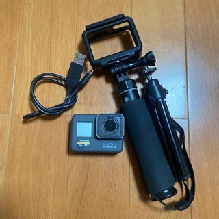 ゴープロ(GoPro)のGoPro hero5 SDカード付属(ビデオカメラ)