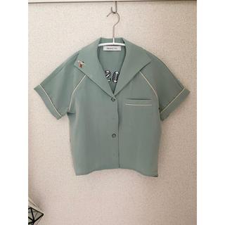 ダズリン(dazzlin)のdazzlin ボーリングシャツ(シャツ/ブラウス(半袖/袖なし))