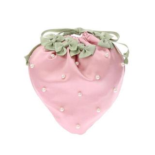 Maison de FLEUR - メゾンドフルール いちご 巾着 ピンク 新品