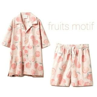 gelato pique - フルーツモチーフシャツ&ハーフパンツ