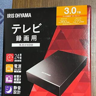 アイリスオーヤマ(アイリスオーヤマ)のアイリスオーヤマ HDD 外付けハードディスク(PC周辺機器)