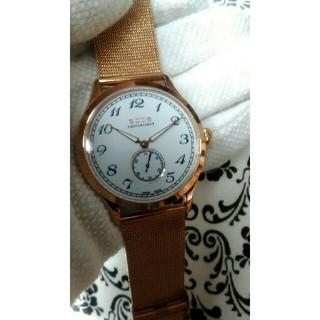 エポス(EPOS)の【美品】EPOS レトロ 手巻き プソー7001(腕時計(アナログ))