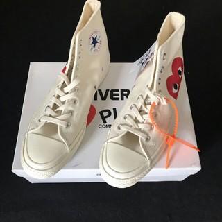 コムデギャルソン(COMME des GARCONS)のCDG Play x Converse 布靴 カップル 男女兼用   新品(スニーカー)