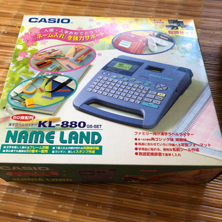 CASIO - カシオ ネームランドKLー880BU