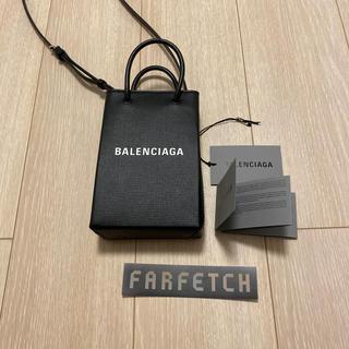 Balenciaga - 早い者勝ち!BALENCIAGA 新品・無使用 ショッピングフォンホルダーバッグ