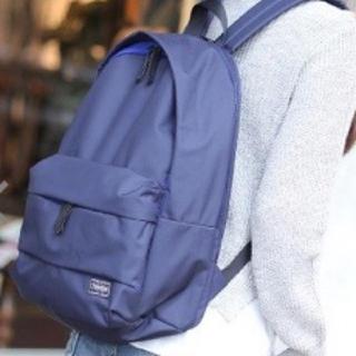 ポーター(PORTER)の【美品】ポーターガール リュック  ネイビー(リュック/バックパック)