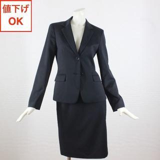 アリスバーリー(Aylesbury)のアリスバーリー スカートスーツ 9 黒 tqe 春夏 クリーニング済 ◆極美品◆(スーツ)