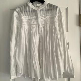 イザベルマラン(Isabel Marant)のイザベルマラントエトワール ブラウス ホワイト 36(シャツ/ブラウス(長袖/七分))