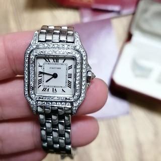 Cartier - カルティエ パンテール 二重ダイヤモンド レディース