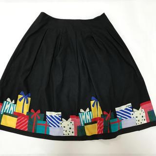M'S GRACY - エムズグレイシー プレゼント柄 スカート 2019