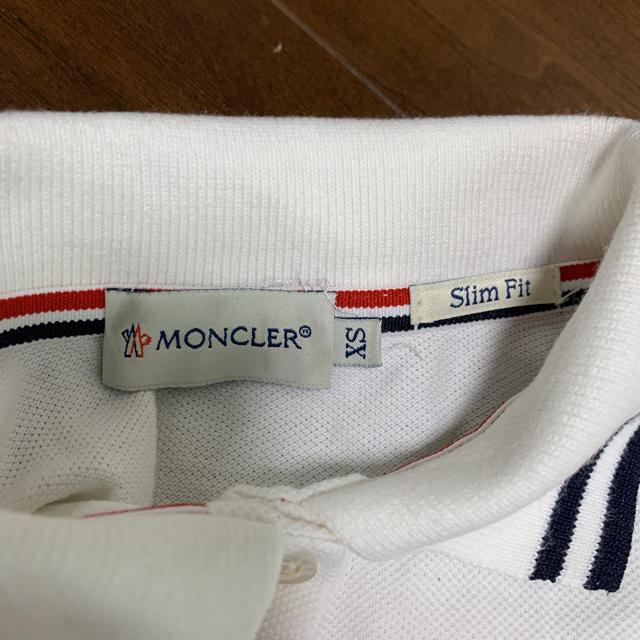 MONCLER(モンクレール)のモンクレール Tシャツ XS   レディースのトップス(ポロシャツ)の商品写真