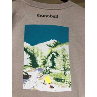 モンベル(mont bell)のmont-bell Tシャツ 美品(登山用品)