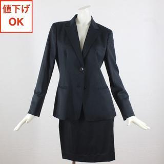 アリスバーリー(Aylesbury)のアリスバーリー スカートスーツ 上11下13 黒 L tqe 春夏秋 ◆極美品◆(スーツ)