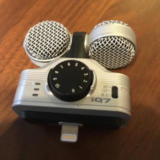 ズーム(Zoom)のzoom IQ7(マイク)