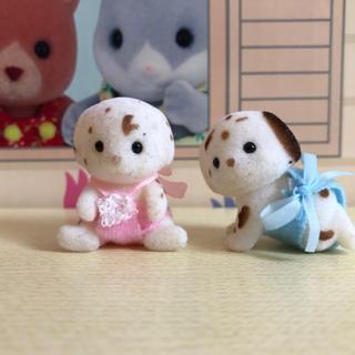エポック(EPOCH)のシルバニアファミリー シルバニア ダルメシアン 赤ちゃん 人形 海外(キャラクターグッズ)