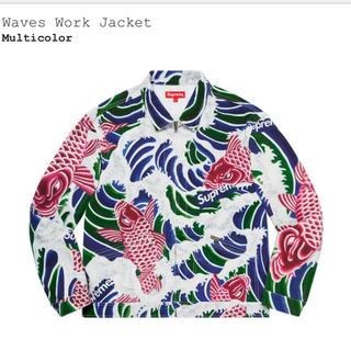 Supreme - supreme waves work jacket XL