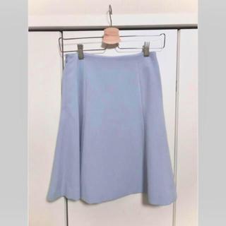 アミウ(AMIW)のほぼ新品 AMIW アイスブルースカート(ひざ丈スカート)