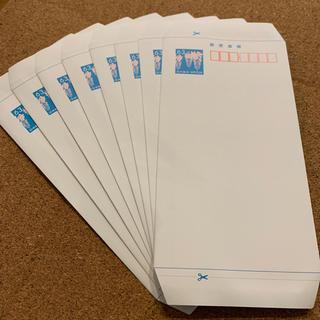 ミニレター 8枚(使用済み切手/官製はがき)