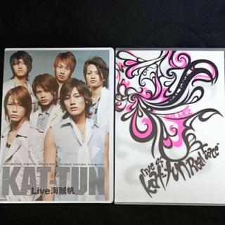 """カトゥーン(KAT-TUN)のLive 海賊帆2枚組Live of KAT-TUN""""Real Face""""2枚組(ミュージック)"""