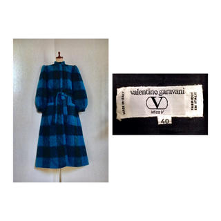 TOGA - 【SALE】 70s Valentino Mohair Coat ヴィンテージ
