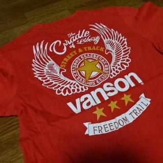 VANSON - 【良好!美品 人気】vanson/バンソン!ロゴTシャツ