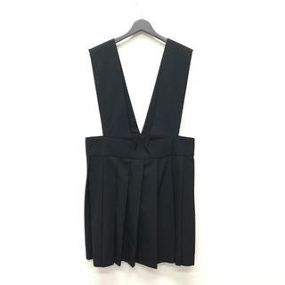 コムデギャルソン(COMME des GARCONS)のコムデギャルソン ビッグ 吊りスカート ジャンパースカート S(ひざ丈スカート)