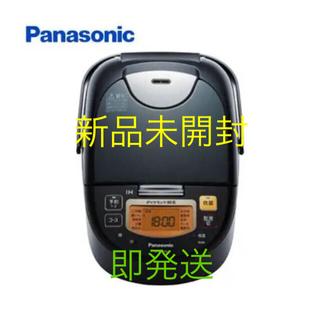パナソニック(Panasonic)のSR-HVC1080-K Panasonic 炊飯器ブラック ダイヤモンド銅釜(炊飯器)