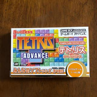 ゲームボーイアドバンス(ゲームボーイアドバンス)のゲームボーイアドバイス 『テトリス』ゲームソフト(携帯用ゲームソフト)