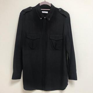 エキプモン(Equipment)のエキプモンフェムのシルクシャツブラウス 黒色(シャツ/ブラウス(長袖/七分))
