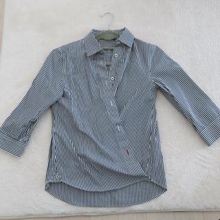 アマカ(AMACA)のAMACA ストライプシャツ(シャツ/ブラウス(長袖/七分))