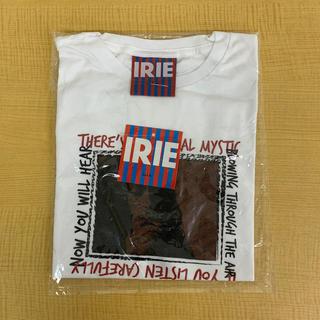 アイリーライフ(IRIE LIFE)の◆新品未使用◆irie lifeレディースTシャツ「ボブ・マーリィ」白ワンサイズ(Tシャツ(半袖/袖なし))