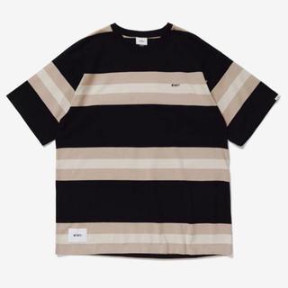 ダブルタップス(W)taps)のwtaps 20ss vatos ss L バトス ボーダー Tシャツ(Tシャツ/カットソー(半袖/袖なし))