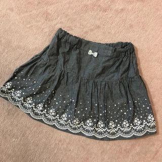 motherways - マザウェイズ キュロット付きスカート 150