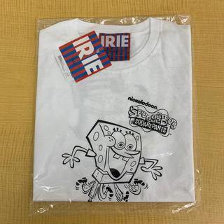 アイリーライフ(IRIE LIFE)の◆新品未使用◆irie lifeレディースTシャツ「スポンジ・ボブ」白ワンサイズ(Tシャツ(半袖/袖なし))