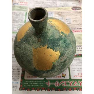 銅花瓶 サイズ14cm・11cm(花瓶)