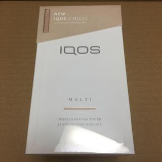 IQOS - 未開封 iQOS3 multi ブリリアントゴールド