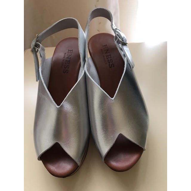 SHIPS(シップス)のシップス  Vカットウエッジサンダル35 レディースの靴/シューズ(サンダル)の商品写真