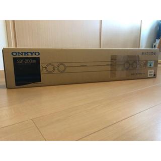 オンキヨー(ONKYO)のonkyo SBT-200(B)  【新品・未開封】(スピーカー)