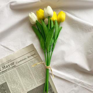 チューリップ 造花 3本セット