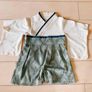 ☆Sweet mommy 袴ロンパース☆50-70