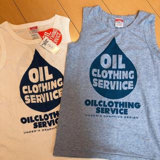 オイル(OIL)のブルーのみ オイル oil タンクトップ(Tシャツ/カットソー)