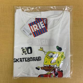 アイリーライフ(IRIE LIFE)の◆新品未使用◆irie lifeTシャツ「スポンジボブ」オフホワイト ワンサイズ(Tシャツ(半袖/袖なし))