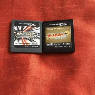ポケモン(ポケモン)のポケットモンスター プラチナ ハートゴールド ポケモン ds ソフト(携帯用ゲームソフト)